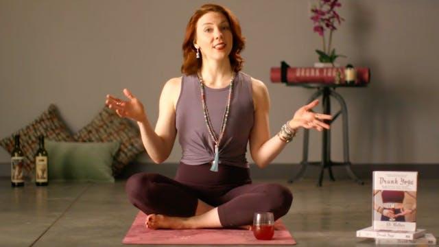 Signature Drunk Yoga®: Wine & Yoga Flow