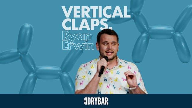 Ryan Erwin: Vertical Claps