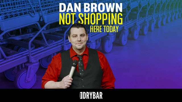 Dan Brown: Not Shopping Here Today