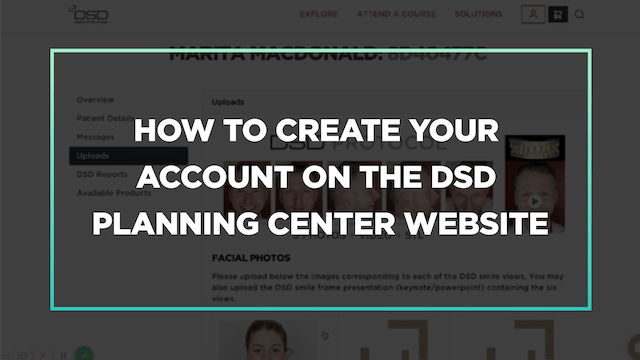 How to create your account on the DSD Planning Center website