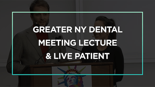 Lite Dentistry Lecture & Live Patient with Christian Coachman and Dr Karla Soto