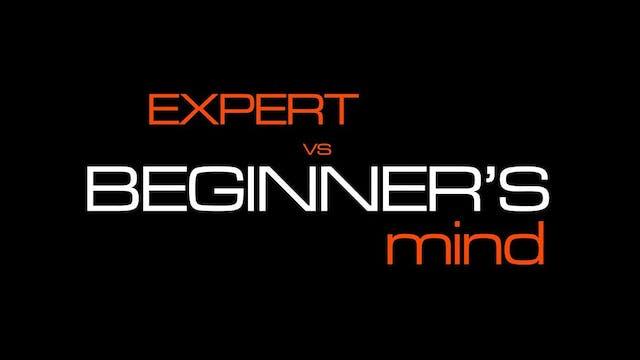 Expert vs. beginner's mind