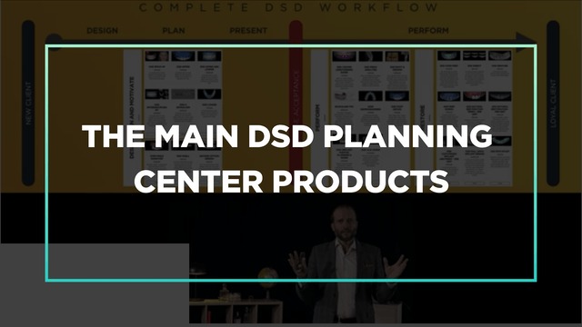 The main DSD Planning Center products