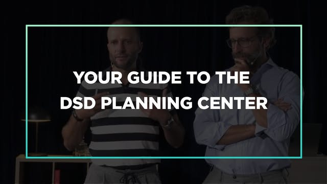 Your guide to the DSD Planning Center