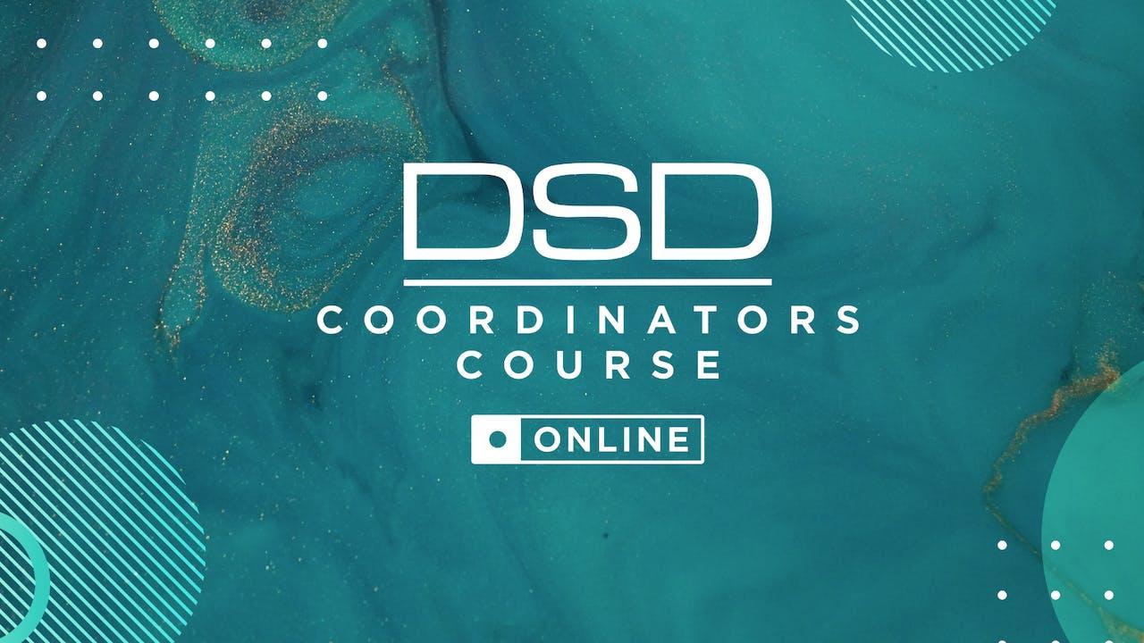 DSD Coordinators Course Online