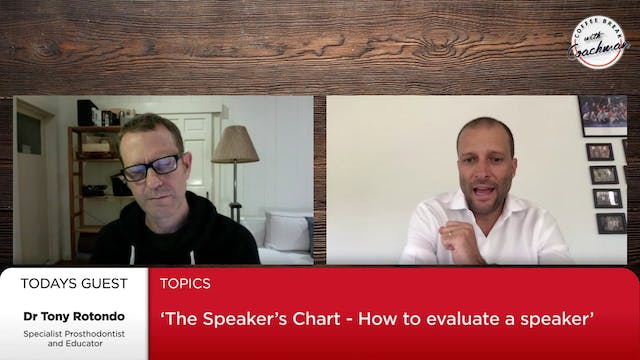 The speaker's chart: How to evaluate ...