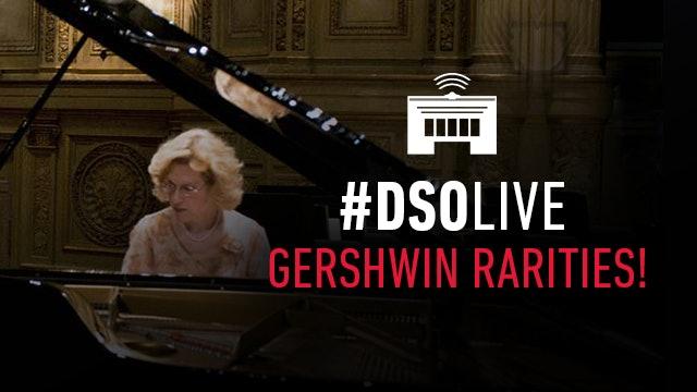 Artwork for Sara Davis Buechner plays rarely heard works by Gershwin