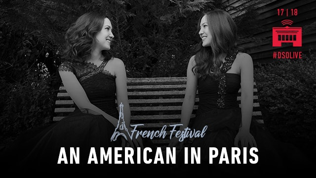Artwork for 2018 French Festival: An American in Paris / A Frenchman in New York