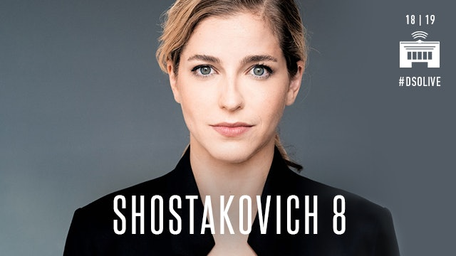 Artwork for (8) Karina Canellakis conducts Shostakovich