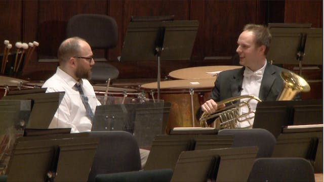 DSO Horn Scott Strong on the Wagner Tuba
