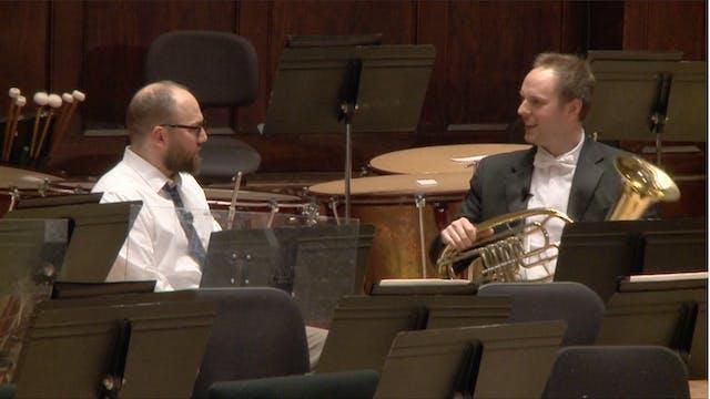 DSO Horn Scott Strong on the Wagner Tuba
