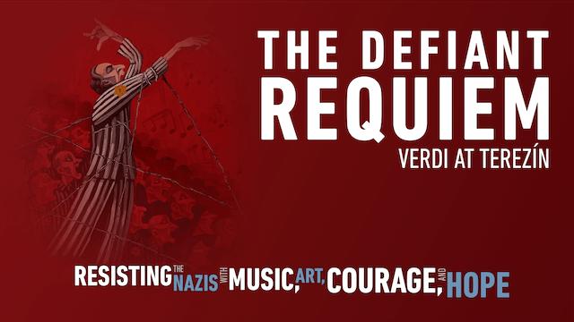 Artwork for Defiant Verquiem: Verdi at Terezín