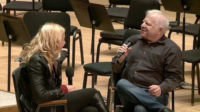 Storm Large in conversation with Leonard Slatkin