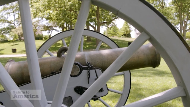 "Artwork for Feature about the Henry Ford's cannons, and The ""1812"" Overture"