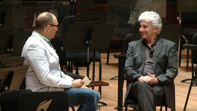 Discussing Tchaikovsky with Peter Oundjian