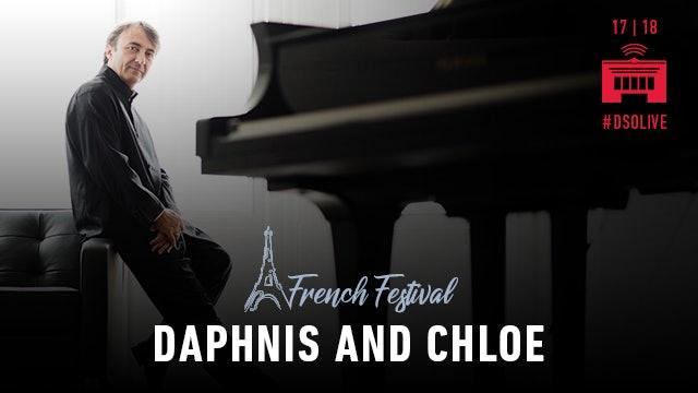 Artwork for 2018 French Festival: All-Ravel with Leonard Slatkin and Jean-Efflam Bavouzet