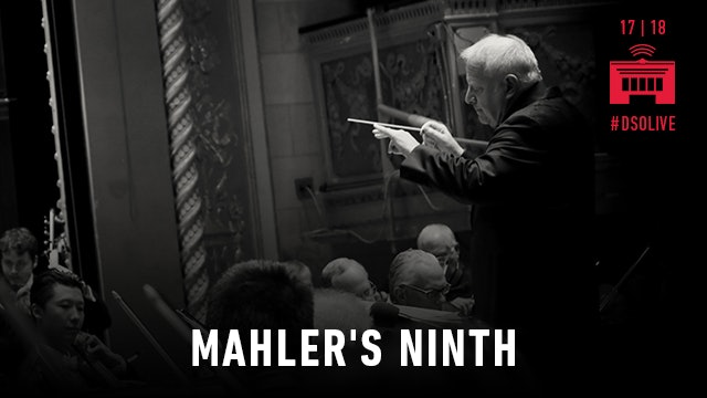 Artwork for Mahler's Ninth and a premiere