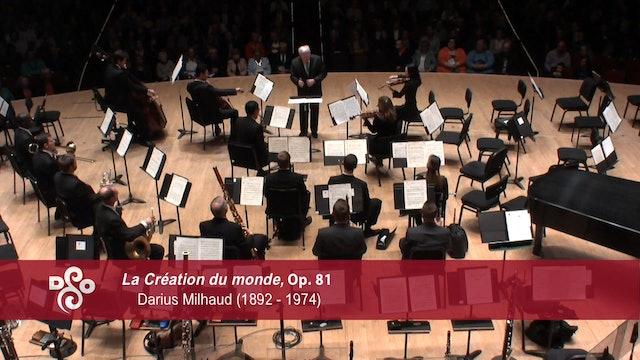 "Artwork for Darius Milhaud ""La Creation du monde,"" Op. 81"