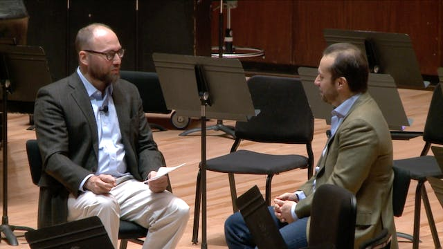 Strauss and Brahms, from Fabien Gabel