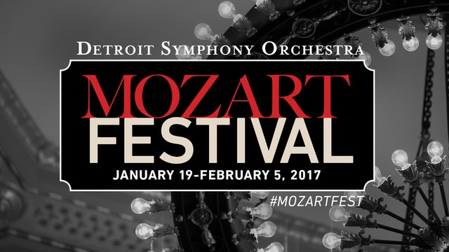 Artwork for 2017 Mozart Festival: Sinfonia Concertante with Horn and Oboe Concertos