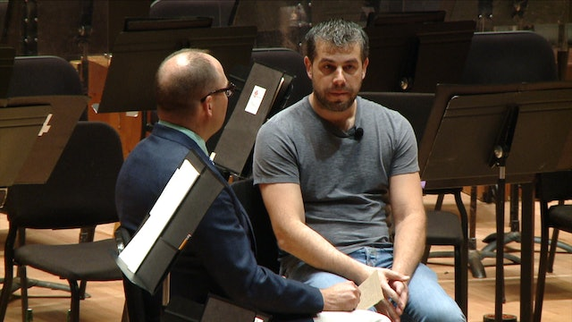 Conductor Jader Bignamini discusses Puccini and opera in concert