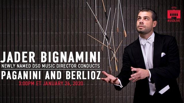 Bignamini leads Berlioz plus a Violin Favorite - Sun. Jan. 26 2020 at 3:00PM EST