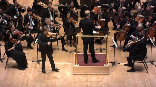 Johannes Brahms Concerto for Violin a...
