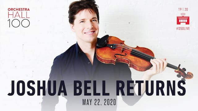 Joshua Bell plays Dvorák with Leonard...
