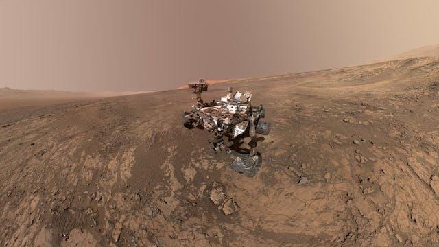 Mars Science Laboratory Curiosity Rov...