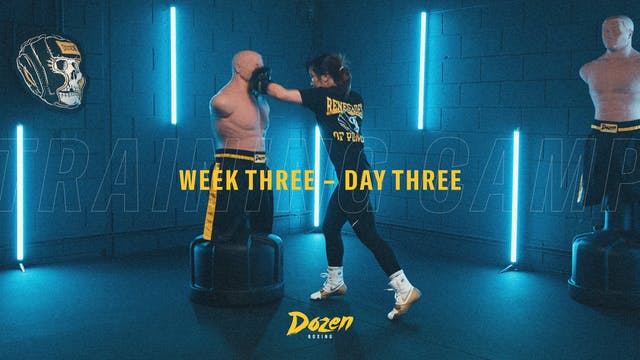 Week 3 – Day 3