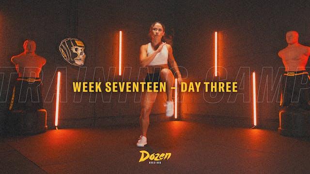 Week 17 – Day 3