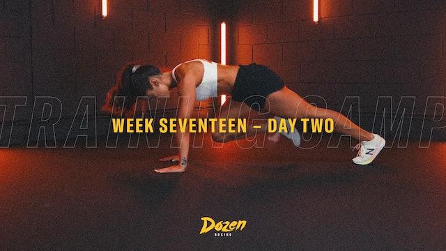 Week 17 – Day 2