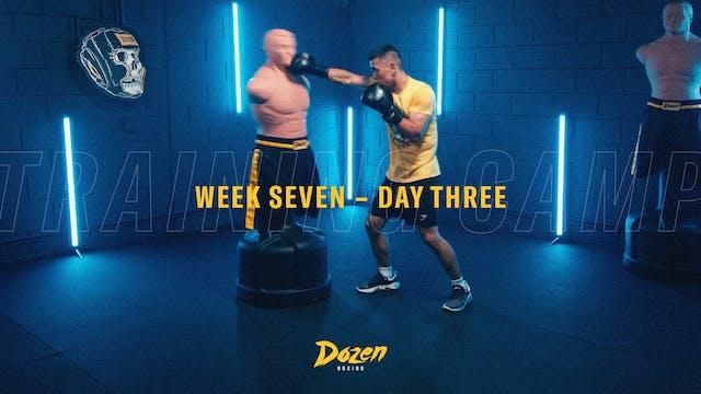 Week 7 – Day 3