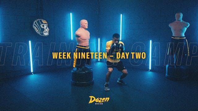 Week 19 – Day 2