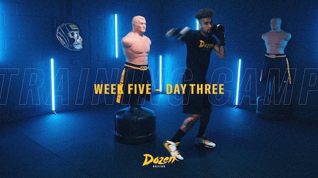 Week 5 – Day 3