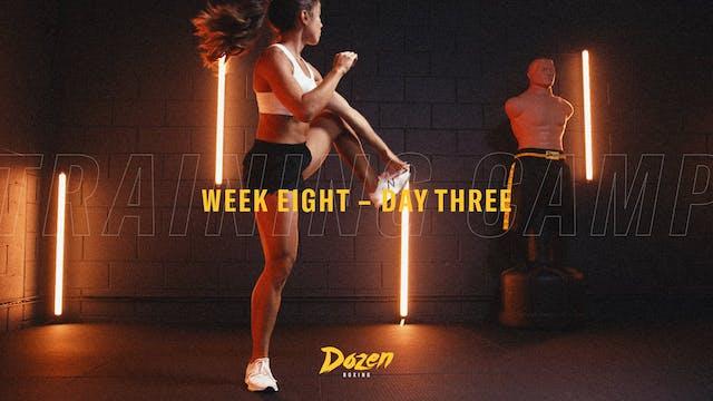 Week 8 – Day 3