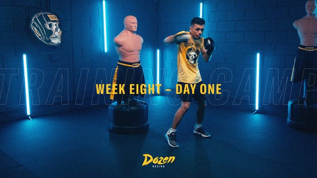 Week 8 – Day 1