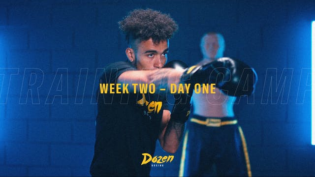 Week 2 – Day 1