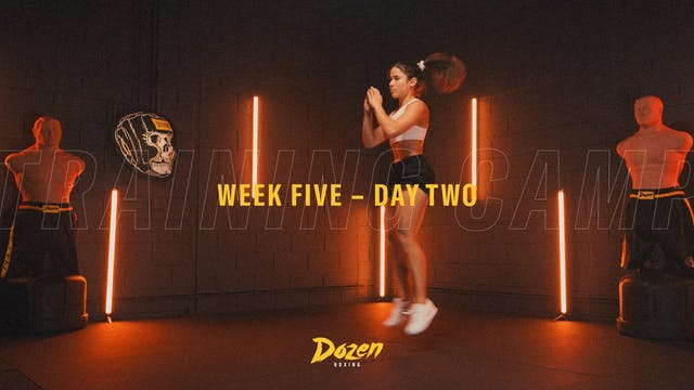 Week 5 – Day 2