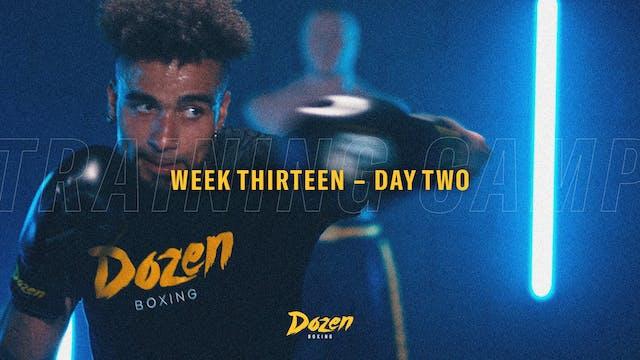 Week 13 – Day 2