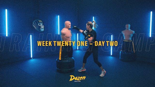 Week 21 – Day 2