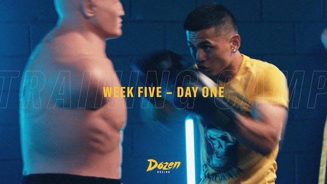 Week 5 – Day 1