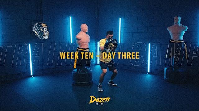 Week 10 – Day 3