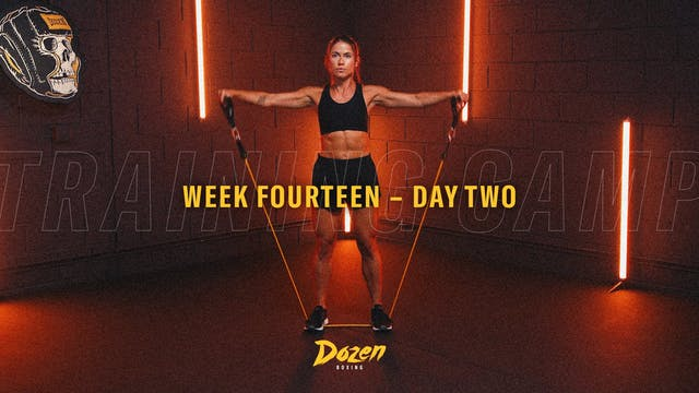 Week 14 – Day 2
