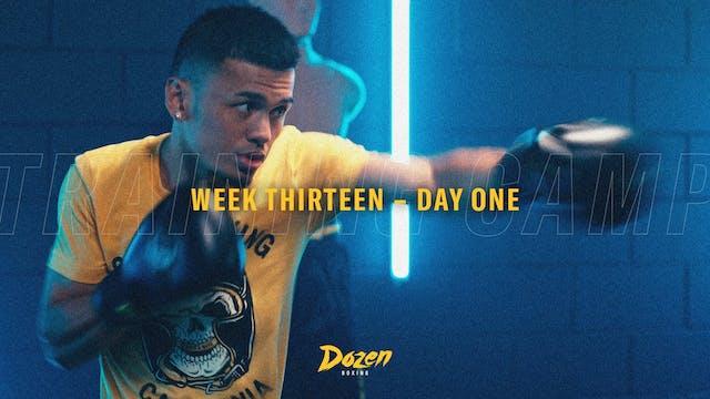 Week 13 – Day 1