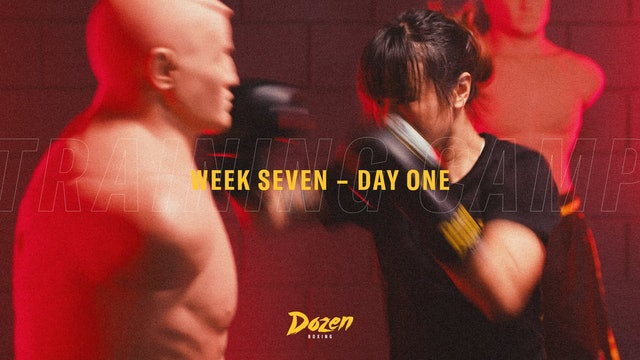 Week 7 – Day 1