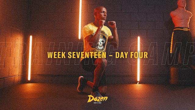 Week 17 – Day 4
