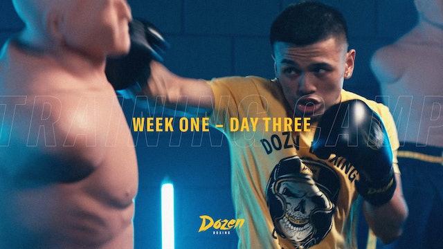Week 1 – Day 3