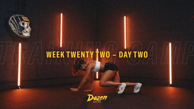 Week 22 – Day 2