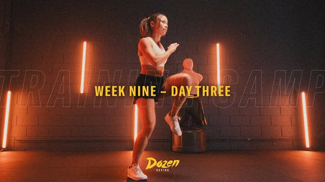 Week 9 – Day 3